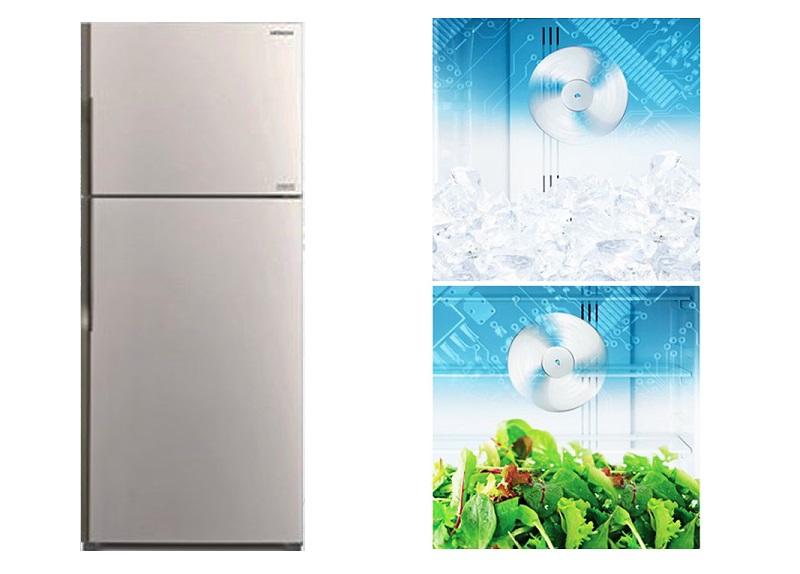Ngăn thực phẩm lẫn mùi vào nhau với công nghệ làm lạnh quạt kép hiện đại