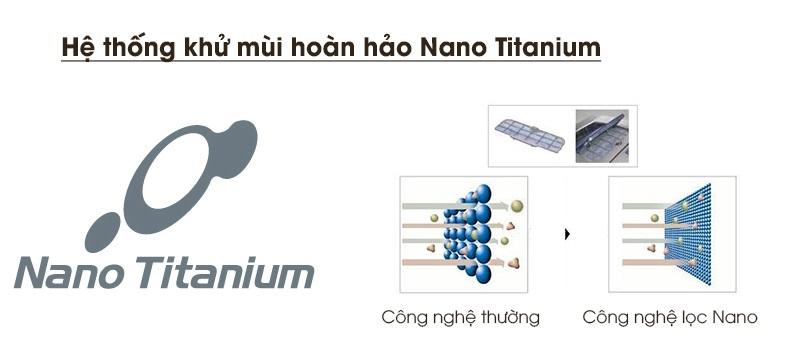 Màng lọc Nano Titanium và đệm cửa chống mốc ngăn chặn vi khuẩn và mùi hôi phát sinh bạn trong tủ