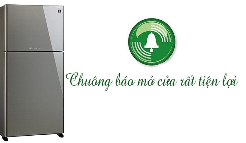 Chuông báo cửa mở ngăn chặn nguy cơ thất thoát điện năng, hư hỏng thực phẩm