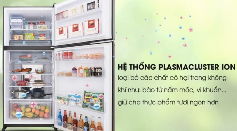 Công nghệ Plasmacluster ions khử mùi - Tủ lạnh Sharp Inverter 613 lít SJ-XP595PG-BK