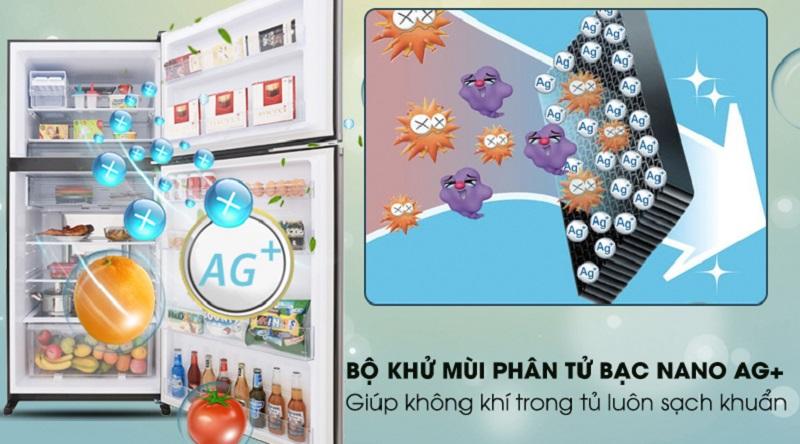 Kháng khuẩn, khử mùi với Nano Ag+ - Tủ lạnh Sharp Inverter 613 lít SJ-XP595PG-BK
