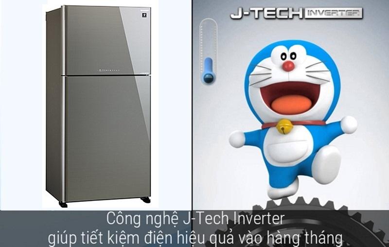 Công nghệ J-Tech Inverter làm lạnh ổn định, tiết kiệm đáng kể chi phí điện hằng tháng