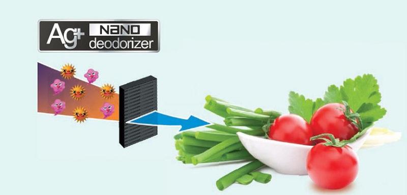 Tủ lạnh Sharp Inverter 364 lít SJ-XP405PG-BK – Công nghệ Ag+ Nano