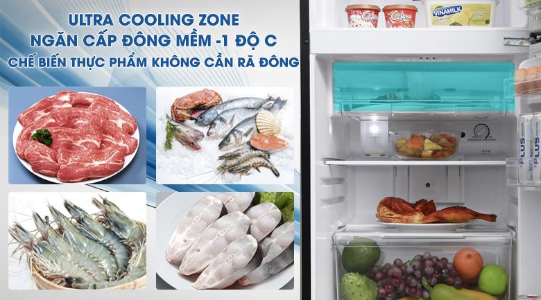 Ultra cooling zone - Tủ lạnh Toshiba Inverter 171 lít GR-M21VUZ1 UKK