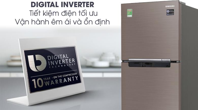 Digital Inverter - Tủ lạnh Samsung Inverter 208 lít RT20HAR8DDX/SV