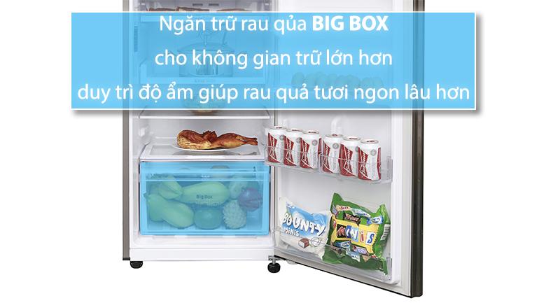Tủ lạnh Samsung Inverter 236 lít RT22M4032DX/SV - Big Box