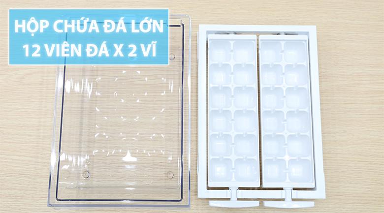2 vỉ làm đá tổng 24 viên - Tủ lạnh Beko Inverter 200 lít RDNT200I50VS