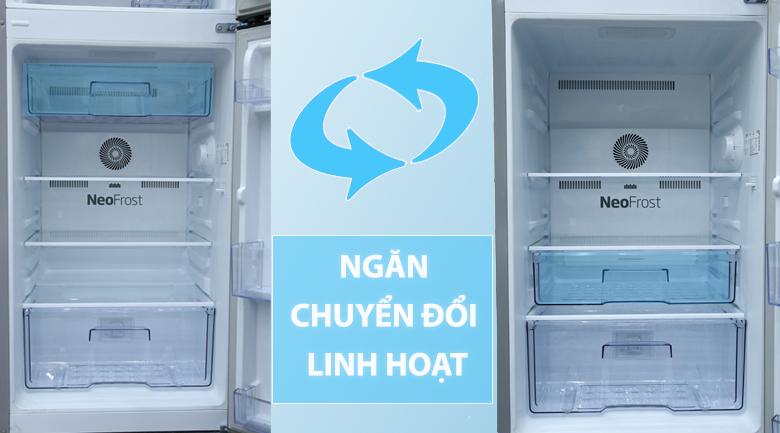Ngăn chuyển đổi linh hoạt - Tủ lạnh Beko Inverter 200 lít RDNT200I50VS