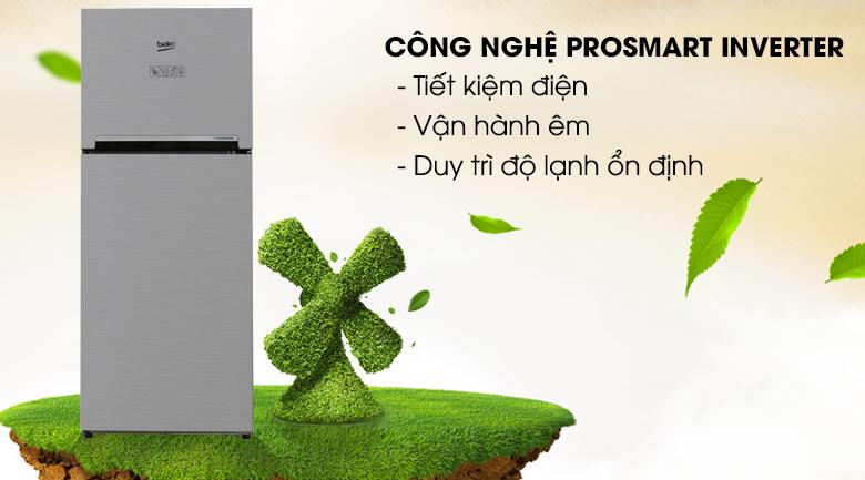 Công nghệ Prosmart Inverter tiết kiệm điện đáng kể - Tủ lạnh Beko Inverter 200 lít RDNT200I50VS