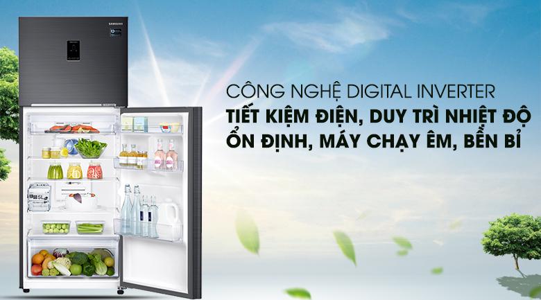 Công nghệ Digital Inverter tiết kiệm điện năng - Tủ lạnh Samsung Inverter 380 lít RT38K5982BS/SV