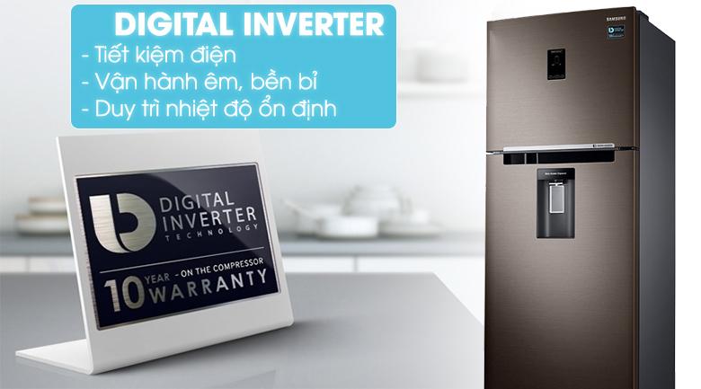 Tích hợp công nghệ Digital Inverter hiện đại - Tủ lạnh Samsung Inverter 380 lít RT38K5982DX/SV