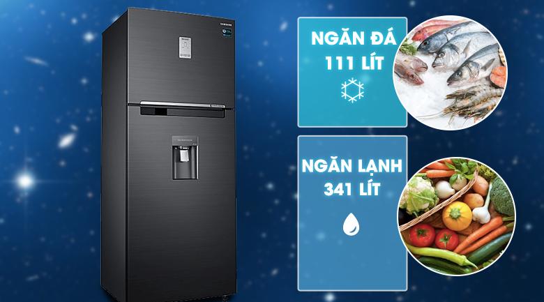 Dung tích - Tủ lạnh Samsung Inverter 451 lít RT46K6885BS/SV