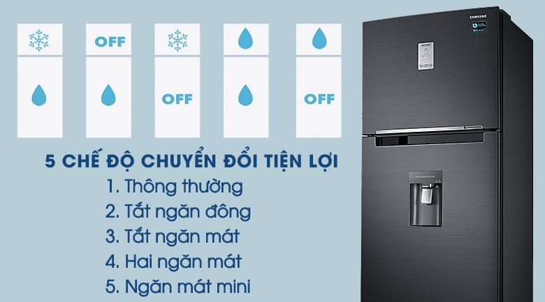 5 chế độ chuyển đổi tiện lợi - Tủ lạnh Samsung Inverter 451 lít RT46K6885BS/SV