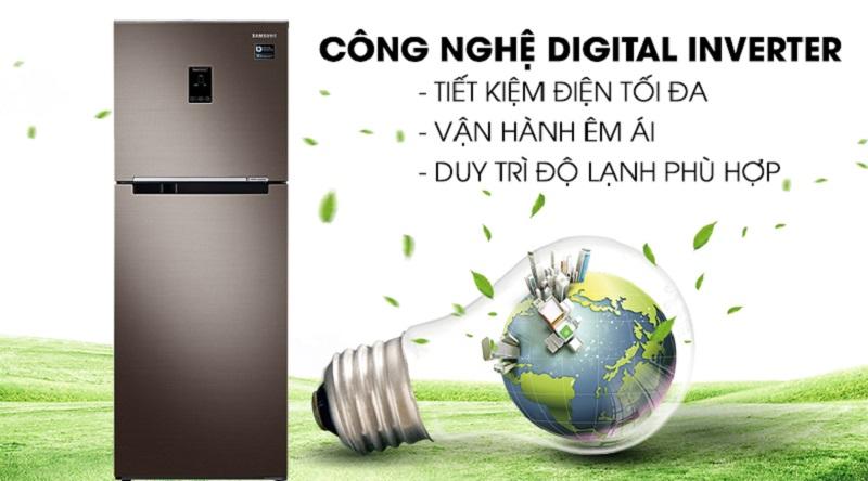 Trang bị công nghệ Digital Inverter hiện đại - Tủ lạnh Samsung Inverter 299 lít RT29K5532DX/SV