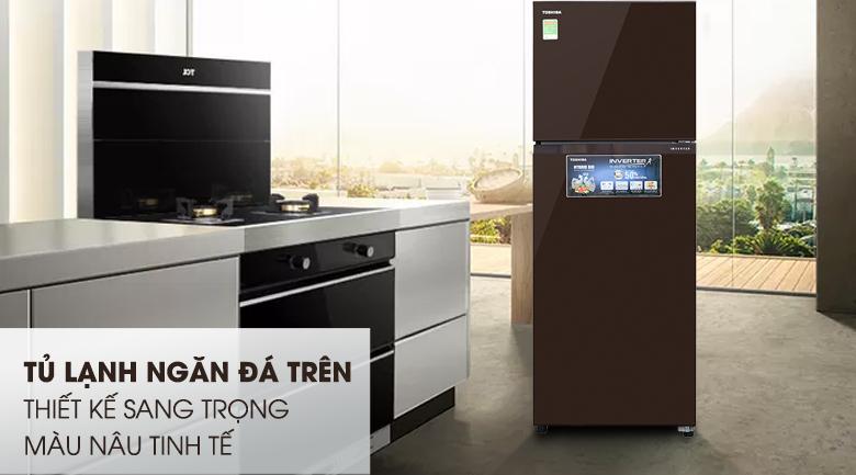 Tủ lạnh Toshiba Inverter 305 lít GR-AG36VUBZ XB
