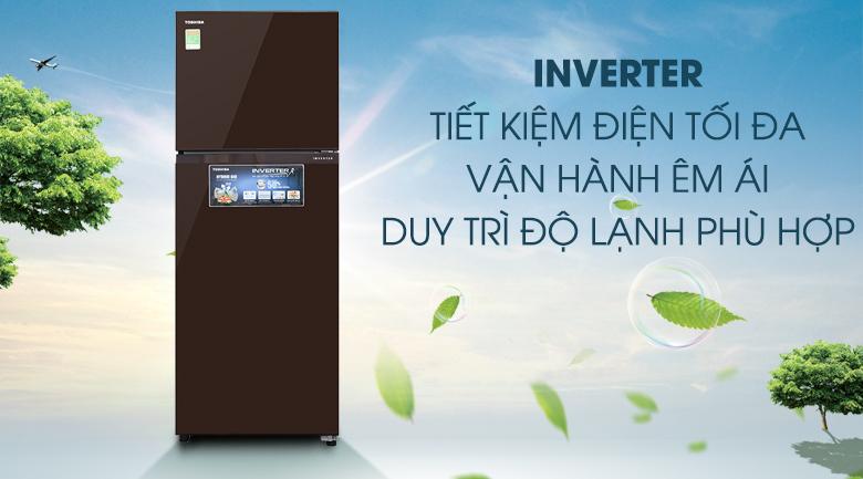 Inverter - Tủ lạnh Toshiba Inverter 305 lít GR-AG36VUBZ XB