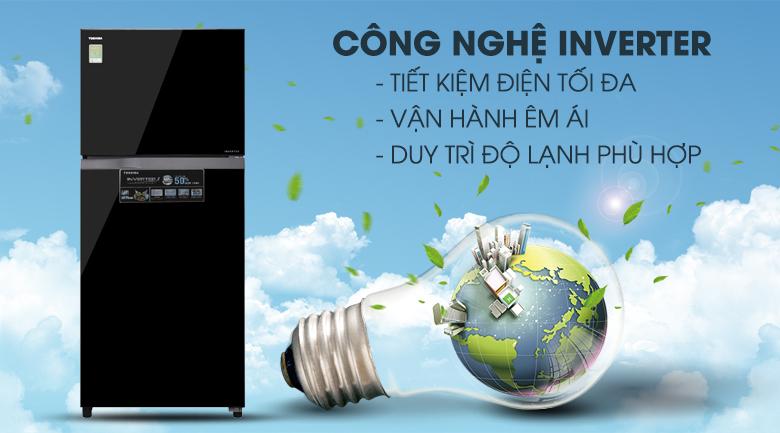 Công nghệ Inverter - Tủ lạnh Toshiba Inverter 359 lít GR-AG41VPDZ XK