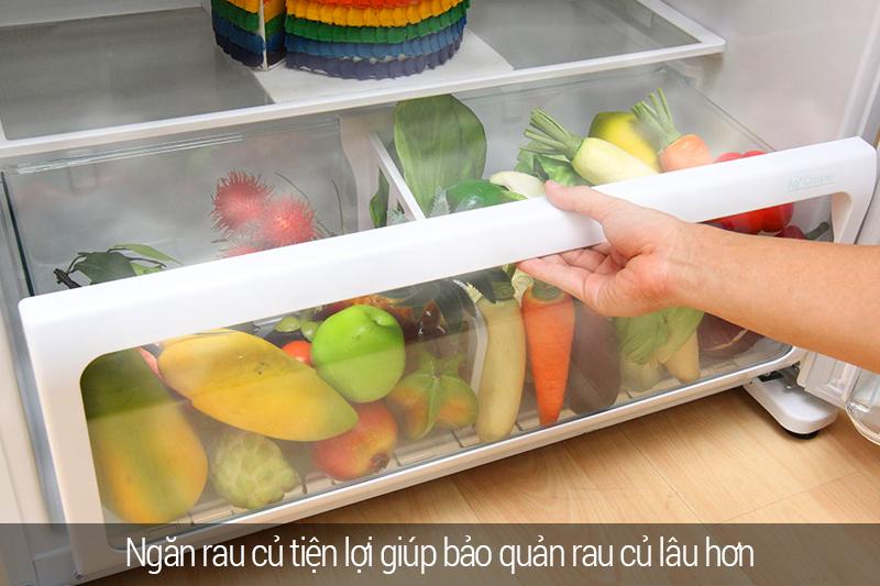 Ngăn rau quả giữ ẩm, cho rau quả tuôn tươi ngon, mọng nước