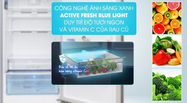 Công nghệ Active Fresh Blue Light - Tủ lạnh Beko Inverter 323 lít RCNT340I50VZX