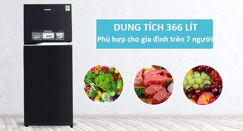 Tủ lạnh phù hợp cho nhà trên 7 người