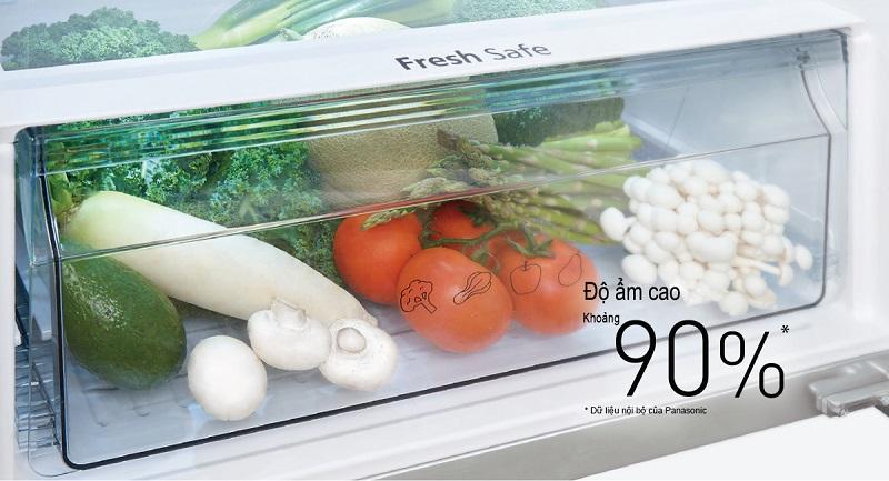 Ngăn rau quả giữ ẩm Fresh Safe lưu giữ tối đa độ ẩm cho rau củ