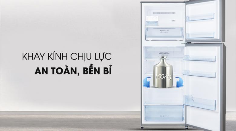 Khay chứa chịu lực an toàn - Tủ lạnh Panasonic Inverter 366 lít NR-BL389PSVN