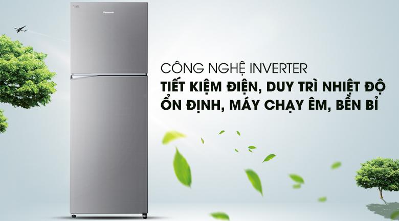 Công nghệ Inverter hiện đại  - Tủ lạnh Panasonic Inverter 366 lít NR-BL389PSVN