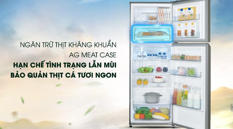 Bảo quản thực phẩm tươi sống với ngăn Ag Meat Case - Tủ lạnh Panasonic Inverter 366 lít NR-BL389PSVN