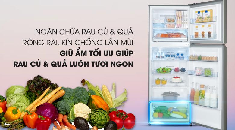 Ngăn rau quả Fresh Safe  - Tủ lạnh Panasonic Inverter 366 lít NR-BL389PSVN