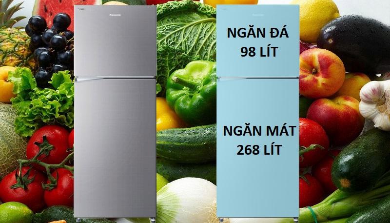 Tủ lạnh ngăn đá trên sang trọng và bắt mắt