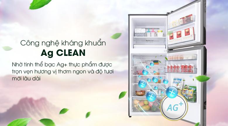 Công nghệ kháng khuẩn khử mùi Ag Clean giúp tủ lạnh luôn sạch khuẩn