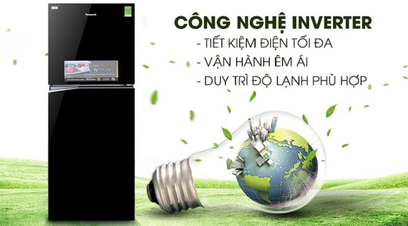Vận hành tốt hơn với công nghệ Inverter - Tủ lạnh Panasonic Inverter 326 lít NR-BL359PKVN