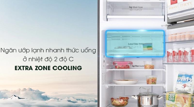 Tiện lợi với ngăn làm lạnh nhanh Extra Zone Cooling - Tủ lạnh Panasonic Inverter 326 lít NR-BL359PKVN