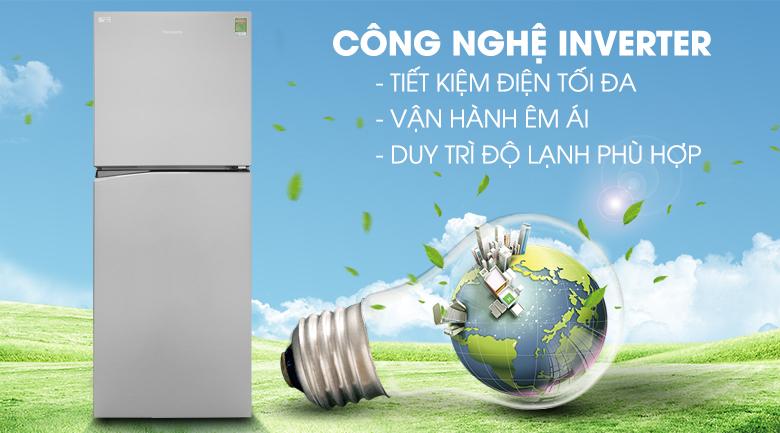 Công nghệ Inverter - Tủ lạnh Panasonic Inverter 326 lít NR-BL359PSVN
