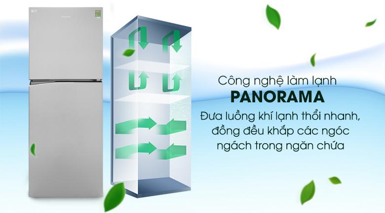 Công nghệ Panorama - Tủ lạnh Panasonic Inverter 326 lít NR-BL359PSVN