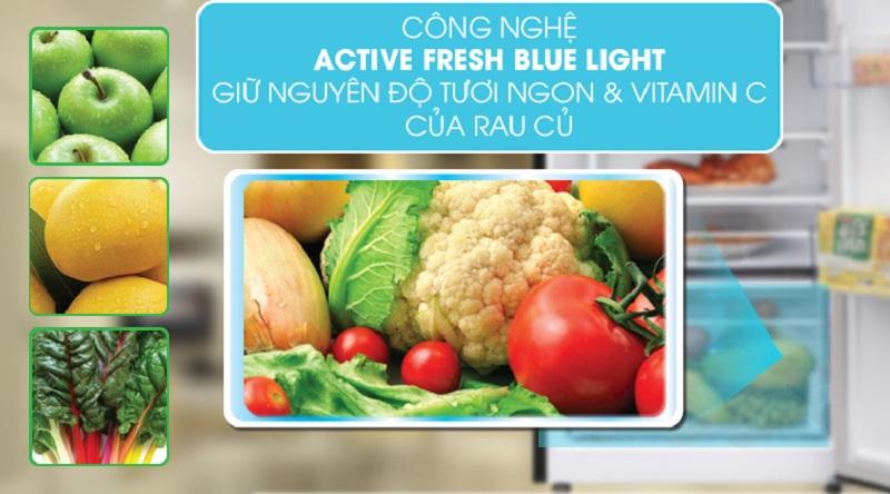Công nghệ Active Fresh Blue Light (Ánh sáng xanh giữ thực phẩm tươi xanh) - Tủ lạnh Beko Inverter 250 lít RDNT250I50VWB