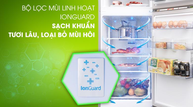 Tủ lạnh Beko Inverter 230 lít RDNT230I50VS - Khử mùi Ion guard