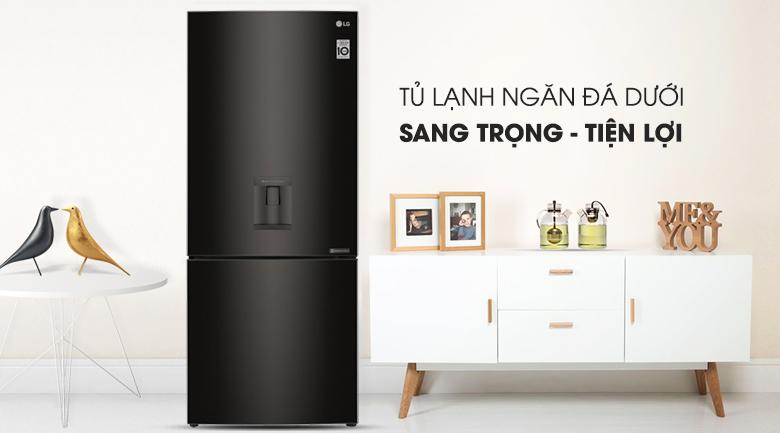 Tủ lạnh LG Inverter 450 lít GR-D400BL