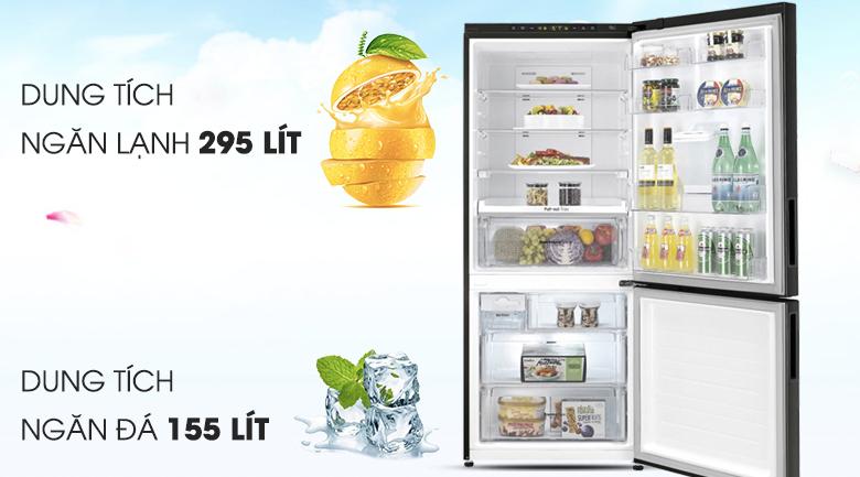 Tủ lạnh LG Inverter 450 lít GR-D400BL - Dung tích