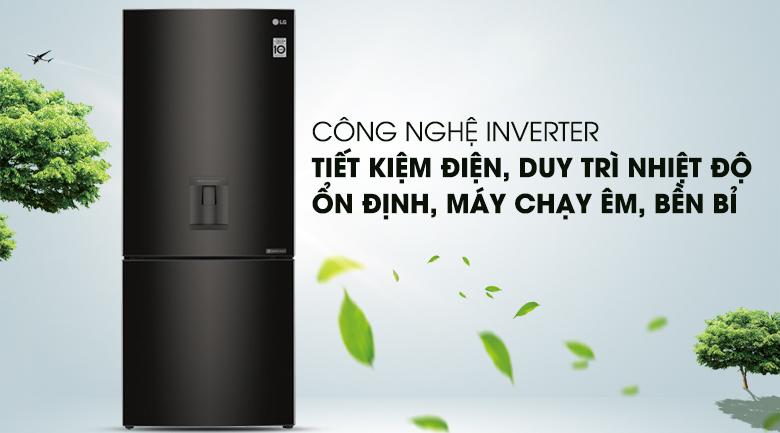 Công nghệ Inverter - Tủ lạnh LG Inverter 450 lít GR-D400BL