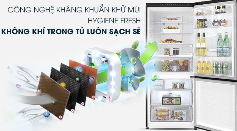 Tủ lạnh LG Inverter 450 lít GR-D400BL - Khử mùi