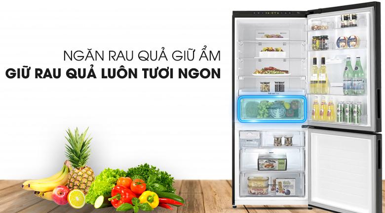 Tủ lạnh LG Inverter 450 lít GR-D400BL - Ngăn rau giữ ẩm