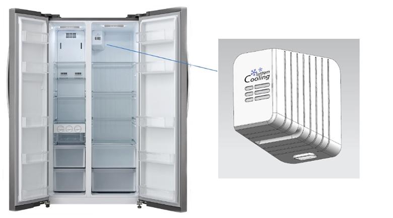Hệ thống làm lạnh - Tủ lạnh Midea 530 lít MRC-690GS