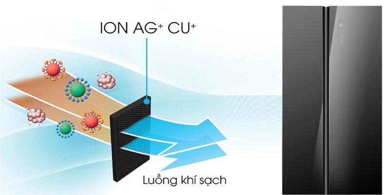 Bộ lọc Ag+ Cu - Tủ lạnh Midea 530 lít MRC-690GS