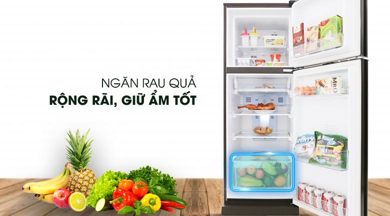 Ngăn rau quả- Tủ lạnh AQua Inverter 247 lít AQua AQR-I247BN (DC)