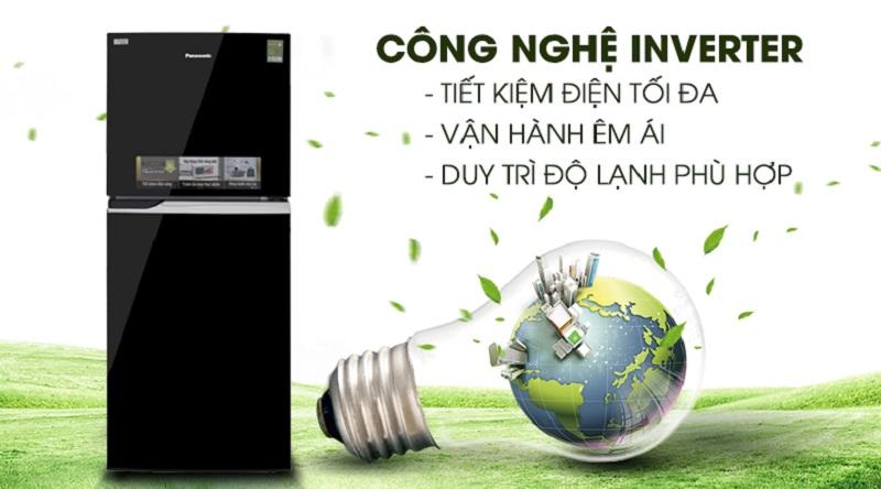 Tích hợp công nghệ Inverter hiện đại  - Tủ lạnh Panasonic Inverter 234 lít NR-BL267PKV1