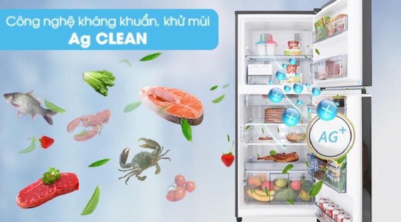 Kháng khuẩn, khử mùi tốt hơn với công nghệ Ag Clean - Tủ lạnh Panasonic Inverter 234 lít NR-BL267PKV1