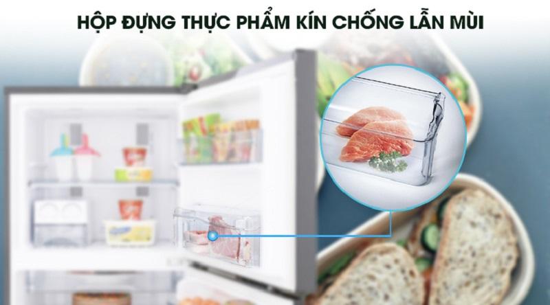Trang bị hộp chứa thực phẩm chống lẫn mùi - Tủ lạnh Panasonic Inverter 234 lít NR-BL267PKV1