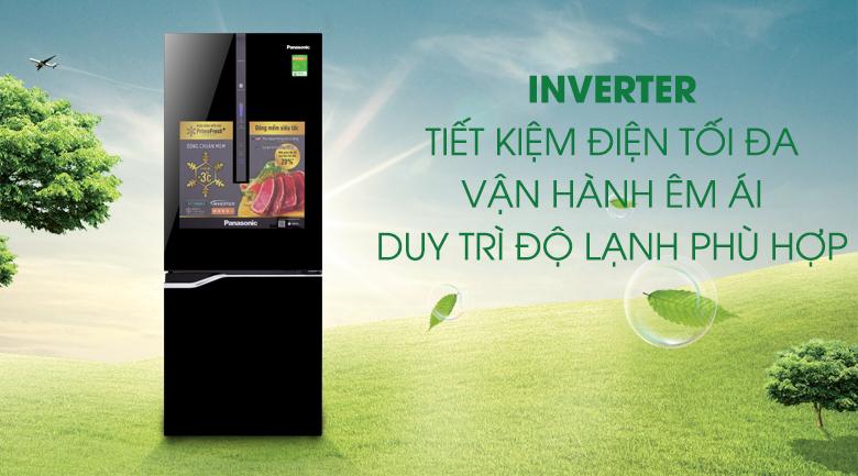 Tủ lạnh Panasonic Inverter 255 lít NR-BV288GKV2 - Inverter