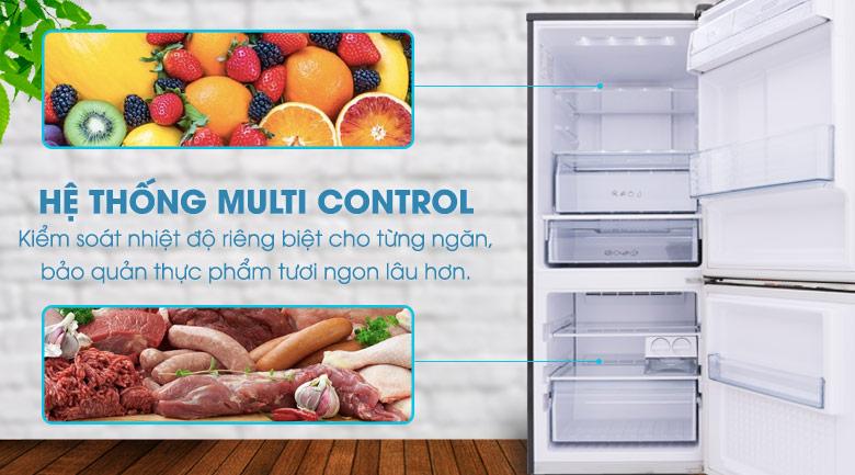Tủ lạnh Panasonic Inverter 255 lít NR-BV288GKV2 - Multi Control
